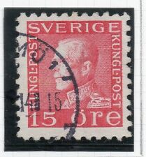 Sweden 1921-38 Early Issue Fine Used 15ore. 026720