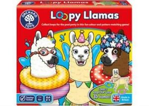 Loopy Llamas Colour & Pattern Matching Game Orchard Toys OC099