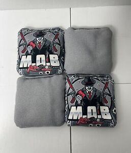 Killshots  Limited Edition M.O.B. Cornhole Bags (4) NEW