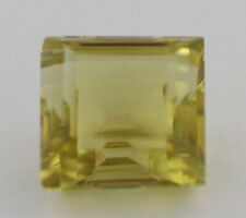 16ct Square Cut Lemon Quartz Gemstone D8-633