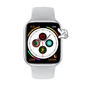 W46 Smartwaches Männer Frauen EKG IP68 Wasserdichte Smartwatch iOS Android-Weiß