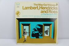 The Way-Out Voices of Lambert Hendricks and Ross Vintage Vinyl Record LP