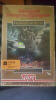 Advanced D&D Champions of Krynn Video Game - Commodore 64 - 5.25 Floppy Disks