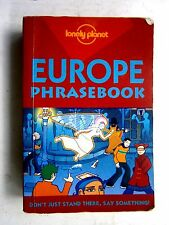 LONELY  PLANET   EUROPE  PHRASE BOOK  THIRD EDITION