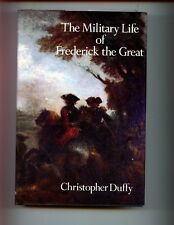 mac- THE MILITARY LIFE OF FREDERICK THE GREAT.  C Duffy HBdj 1st US,   VG