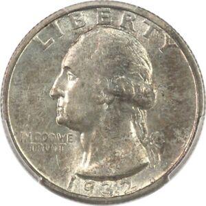 1932-S PCGS AU58 Choice AU Washington Quarter - Nice Luster, Key Date, No Res!