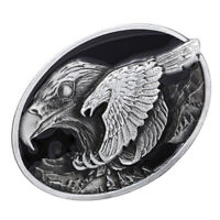 Men Flying Eagle Belt Buckle Western Indian Cowboy Cowgirl Jeans Accessories