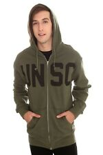 Halo UNSC Logo Olive Green Zip Up Hoodie 2X XXL Hot Topic New