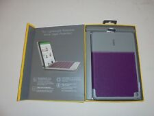 Zagg Folio Wireless Keyboard & Case for iPad Mini 4 - Purple IM4ZFN-PU0