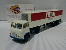 "Brekina 85161 # Scania LB 76 2/2achs Kü-Ko. SZ in weiß-rot "" FINDUS "" 1:87 NEU"