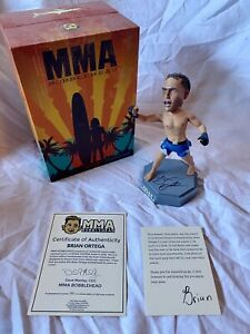 MMA Bobblehead - *BRIAN ORTEGA 22/100! Authentic Signature* UFC Bellator Pride