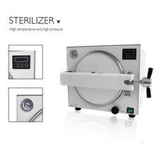 18l Dental Autoclave Steam Stainless Steel Sterilizer Machine Lab Equipment E218