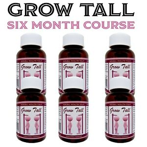 Be Taller, Powerful Height Gain Pills, Grow with this 6 Month Course of GT - HHT