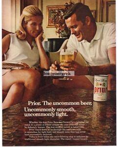 1968 Prior Beer Vintage Ad