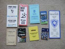 fixture card port vale 1988/89