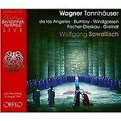 Wagner: Tannhäuser, Bayreuth 1961, Josef Greindl, Wolfgang Windgass CD   4011790