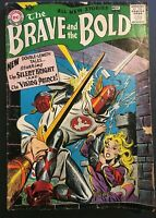 THE BRAVE AND THE BOLD. NO. 20. 1ST SERIES. 1958 SILVER AGE. THE VIKING PRINCE.