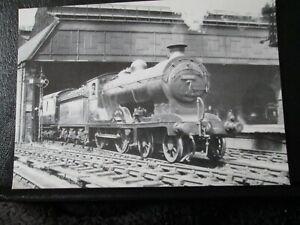 Postcard - Ex- NBR Class D34 No 62484 Glen Lyon shunts .... Perth (unposted)