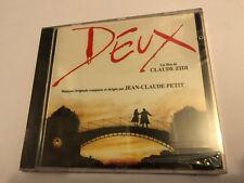 DEUX (Jean-Claude Petit) OOP 1988 Soundtrack Score OST CD SEALED