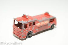 TUF-TOTS TUF TOTS LONE STAR FIRE ENGINE BRIGADE VAN TRUCK GOOD CONDITION..