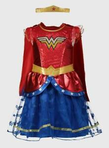BRAND NEW AND UNWORN ( DC Wonder Woman Girls 2021 Outfit ) BRILLIANT COSTUME