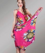 Women Beach Bikini Swimwear Cover Up Maxi Wrap Summer Tunic Sarong Kaftan UK!