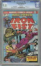 Marvel Premiere - Iron Fist #20 CGC 9.8 White