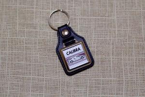 Vauxhall Opel Calibra Keyring - Leatherette & Chrome Keyfob