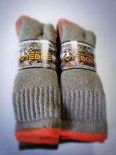 NEW!! 4 Pair REALTREE EDGE Carolina Ultimate WARM Socks USA Made Wool Blend Hunt