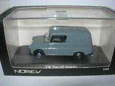 Norev 1:43 840223 Volkswagen Typ 147 Fridolin gris 1965 NEW
