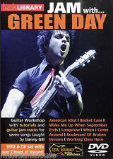 LICK LIBRARY Learn to Play JAM WITH GREEN DAY American Idiot Longview GUITAR DVD