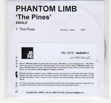 (EC650) Phantom Limb, The Pines - 2012 DJ CD