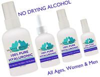 Watts Beauty 100% Pure Hyaluronic Acid Serum Fills in Fine Lines & Wrinkle Serum