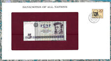 Banknotes of All Nations GDR East Germany 1975 5 Mark UNC P 27a IH017303