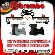BRPADS-55296 KIT PASTIGLIE FRENO BREMBO DUCATI 1098 2007- 1099CC [RC+GENUINE] AN
