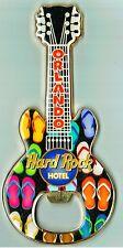 Hard Rock HOTEL ORLANDO Guitar MAGNET BOTTLE OPENER - HRC - RARE !!!