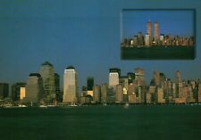 PLEASE READ !! New York City NY - WTC Financial District - Continental Postcard