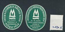 wbc. - CINDERELLA/POSTER - CE65 - EUROPE- INT. KOLNER MESSE, HERBST - 1954