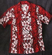 Vintage Ky's red Hawaiian shirt