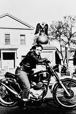 WILD ONE MARLON BRANDO 24X36 POSTER TRIUMPH MOTORCYCLE