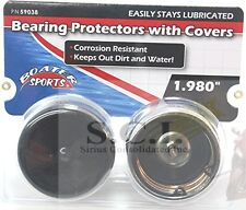 """BOATER SPORTS Bearing Protectors 1.98"""" BOAT ATV RV TRAILER AUTOMATIC GREASER"""