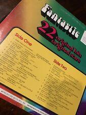 FANTASTIC VINYL Lp 1973 Various Artists Elton John, Donny Osmond, Raspberries