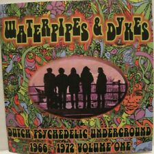 VARIOUS - WATERPIPES AND DYKES - CD- USA - 60'S DUTCH PSYCH ROCK rare  oop L@@K