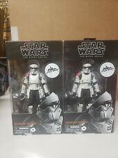"2- Star Wars The Black Series 6"" Mountain Trooper Galaxy?s Edge Target Exclusive"