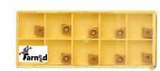 10 PLACCHETTE INSERTO UTENSILI TORNIO INSERTI ROMBO LATO 6 MM PLACCHETTE X SCL10