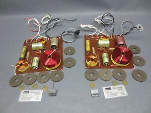 2x  Heco Professional P 4000 Frequenzweichen 3-Wege Lautsprecher . 4Ω.  y