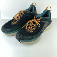 Hoka One One M Bondi 6 1019269 BISB Running  Blue Shoes Size 12 EU 46.5 SH9