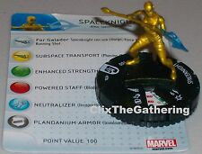 Spaceknight #204 Guardians of the Galaxy Marvel HeroClix Gravity Feed