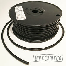 GEORGE L's BLACK .225 - BULK GUITAR & INSTRUMENT CABLE - SOLD IN 25 FT LENGTHS