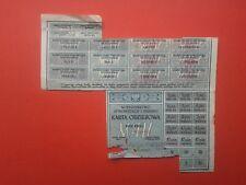 Karta Odziezowa 1946 Clothing Card